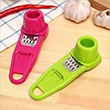 #7: Right Products Creative Multi Functional Mini Ginger Garlic Grinding Grater Planer Slicer Cutter Cooking Tool Kitchen Utensils Accessories (Assorted Color will be sent)