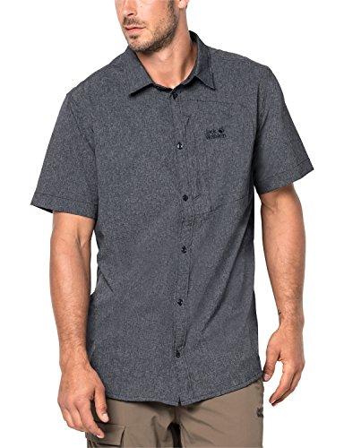 Jack Wolfskin Herren Barrel Shirt Hemd, Night Blue, XL