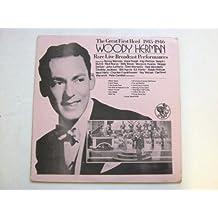 Woody Herman The Great First Herd 1945-1946 LP Ginzo Disc BERKS705 EX/EX 1970s