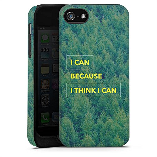 Apple iPhone X Silikon Hülle Case Schutzhülle Motivation Fitness Statement Tough Case matt