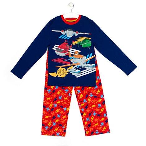 Original Disney - Disney Planes - Pyjama für Kinder - Kostümpyjama für Kinder - Größe 9 - 10 Jahre
