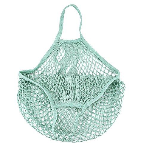 Convertible Schulter Tasche (Trada Einzelne Schulter Tasche, Stilvolle Tragbar Wiederverwendbar Mesh Net Schildkröte Tasche String Einkaufstasche Obst Lagerung Handtasche Totes Einkaufstasche für Frauen (A))