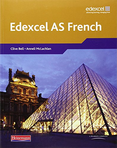 Edexcel A Level French (AS) Student Book & CDROM
