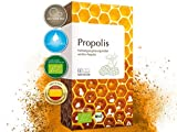 MEDICOM BIO Propolis Kapseln • biozertifiziert mit 400 mg gereinigter