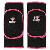 BXT 1 Paar Baumwolle Kinder Knieschutz Baby Knieschoner Sicherheit Schwamm Knieschützer Kniebandage für Sport und Freizeit geeignet für 3-8 Jahre Kinkder