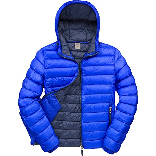 Result Urban Outdoor Mens Urban Snowbird Hooded Jacket Royal/ Navy