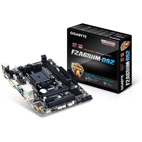 Gigabyte GAF268MS2-00-G11 - Placa Base (F2a68hm-Ds2, AMD, Fm2+, A68h, 2ddr3,...