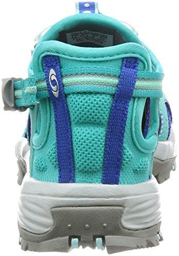 Salomon Damen Techamphibian 3 W Trail Runnins Sneakers, Blau, Einheitsgröße Verschiedene Farben (Ceramic/Nautical Blue/Aruba Blue)