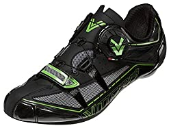 Vittoria V Spirit Cycling Shoes Black/Green Fluorescent 37 M EU / 5 D(M) US