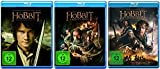 Der Hobbit: Teil 1+2+3 * Blu-ray Set