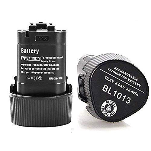 10.8V 3,0Ah Akku Lithium Ersatz für Makita BL1013 BL1014 194550-6 194551-4 DF030DW DF030D DF030DWX DF330D TD090D TD090DWE TD090DWX TD090DWXW