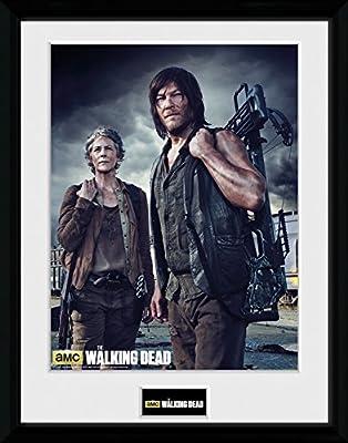 GB Eye LTD, The Walking Dead, Carol and Daryl, Photographie encadrée 30 x 40 cm