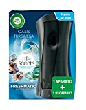 Air Wick Ambientador Freshmatic Completo Life Scents Oasis Turquesa, Aparato