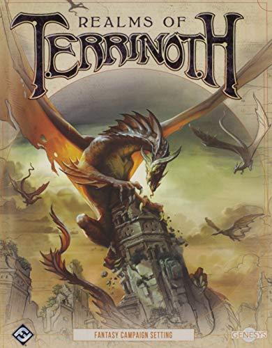 Fantasy Flight Games FFGGNS03 Realms of Terrinoth: Genesys RPG