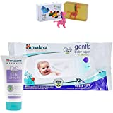 Himalaya Herbals Baby Cream (50g)+Himalaya Herbals Gentle Baby Wipes (72 Sheets) With Happy Baby Luxurious Kids Soap With Toy (100gm)