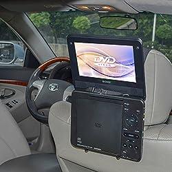 TFY Support appuie-tête de voiture pour ordinateur Portable Style Standard)/Lecteur de DVD Portable