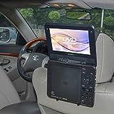 TFY–Soporte para reposacabezas de coche para reproductor de DVD portátil estilo estándar (portátil)