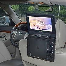 TFY soporte para reposacabezas de coche soporte para Estándar (tipo portátil) reproductor de DVD