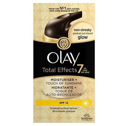 Total Effects de Olay 7in1 Lumière Sun-Kissed Glow Hydratant 37ml