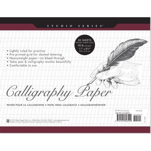Studio Series Calligraphy Paper Pad (Set of 50 Sheets)