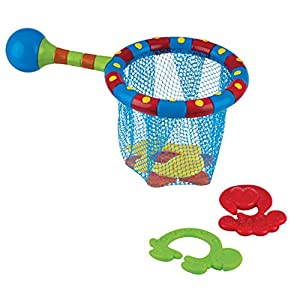 Nuby Splash N' Catch Fishing Set Bath Toy, Multi