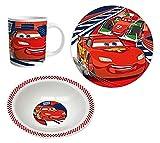 Disney Cars Set desayuno, 3 piezas - Rojo -