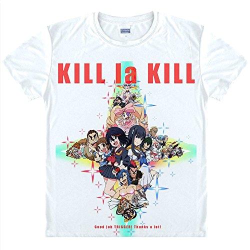 KILL la KILL T-Shirt Kostüm Cosplay (Kostüm Ryuko Cosplay)