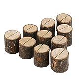 Holzsteg Tischkartenhalter Tisch Hochzeit Deko (10 Stück)