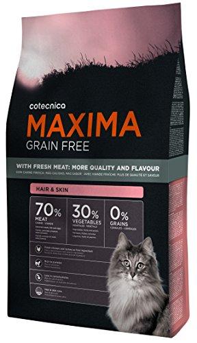 katzeninfo24.de 3kg Cotecnica Maxima Cat Grain Free Hair & Skin GETREIDEFREI Katzenfutter