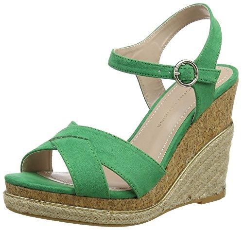 Dorothy Perkins Damen Roxy Wedge Sandalen mit Absatz Grün (Grün)