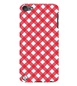 99Sublimation Animated Pattern OF houndstooth 3D Hard Polycarbonate Back Case Cover for Apple iPod Touch 6