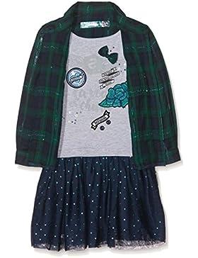 Desigual Mädchen Kleid Vest_accr