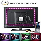 Tiras LED de Luz TV SMD 5050 RGB 20 Modo de Color IP65 Impermeable USB para Decoración del Hogar Neolight-F1