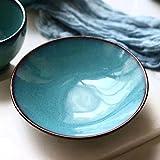6in Tapered Keramikschale Kreative und sichere bleifreie Chrom für Home Küche Frühstück Obstteller Salatteller