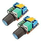 DC Motor PWM Drehzahlregler 3 V 6 V 12 V 24 V 35 V Drehzahlregelung Fahrer Bord Schalter Kleine LED Dimmer, 2 stücke