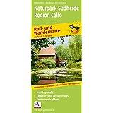 Naturpark Südheide - Region Celle: Rad- und Wanderkarte mit Ausflugszielen, Einkehr- & Freizeittipps, wetterfest, reissfest, abwischbar, GPS-genau. 1:50000