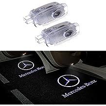 Benz W210 DEFOV T/ürbeleuchtung Einstiegsleuchte,Autot/ür Licht 3D Logo