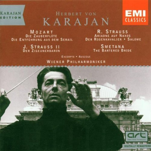 Preisvergleich Produktbild Karajan Edition - Mozart, R. Strauss, Strauss II, Smetana by Herbert Von Karajan (2004-01-01)