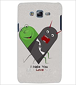 PrintDhaba LOVE ART D-6546 Back Case Cover for SAMSUNG GALAXY ON7 (Multi-Coloured)