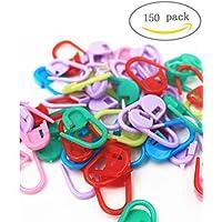 3-otters 150PCS contatore di Stitch crochet Stitch Markers Stitch ago clip spille di sicurezza/mix color