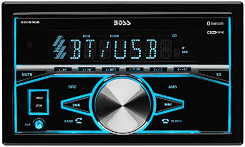BOSS-AUDIO-820BRGB-Double-DIN-In-Dash-Mechless-AMFM-Receiver-with-BluetoothR