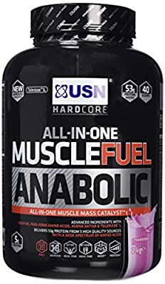 USN 2 kg Anabolic Strawberry Muscle Fuel by USN