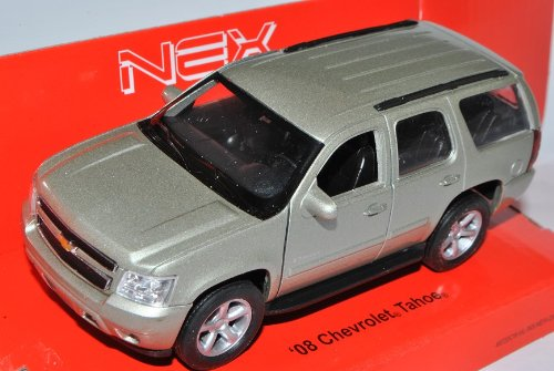 Welly Chevrolet Chevy Tahoe SUV Silber Beige Ab 2006 ca 1/43 1/36-1/46 Modell Auto