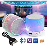 VOLTAC ™` Mushroom Rechargeable Portable Bluetooth Speaker With SD Card Slot And FM Compatible For All Android/Iphone Mobiles - Assorted Color Pattern #142427