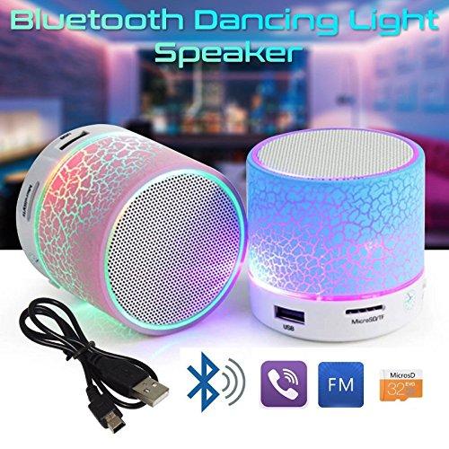 Mini Mushroom Portable Bluetooth Mobile/Tablet Speaker (Assorted Color)