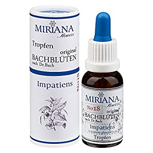 MirianaFlowers Impatiens 20ml Bachblüten Stockbottle