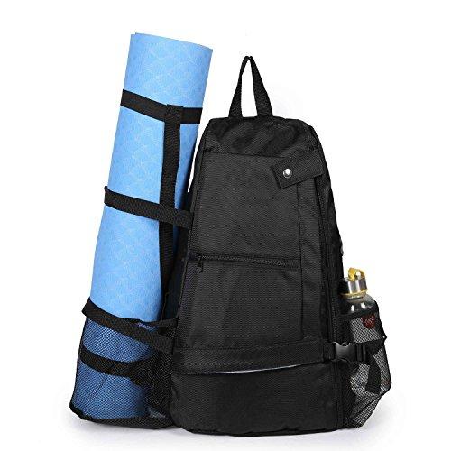 Asvert Yogatasche Yoga Mat Rucksack Tasche in Oxford Tuch Transport Lagerung Multi Taschen Large Size