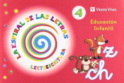 La Espiral De Las Letras. Lectoescritura 4 - 9788468202495