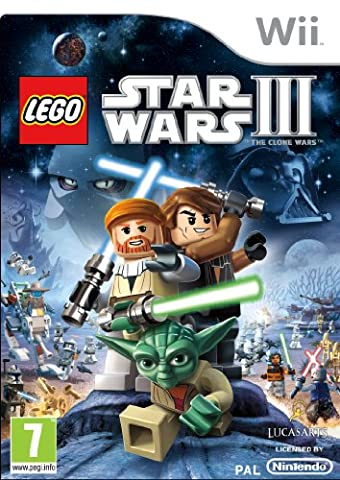 [UK-Import]Lego Star Wars III 3 The Clone Wars Wii