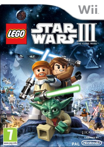 LEGO Star Wars 3: The Clone Wars (Wii) [Importación inglesa]